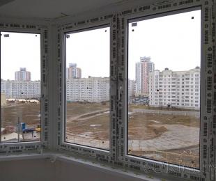 Балконная рама из ПВХ. Плещеницы. №10
