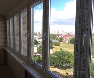 Балконная рама из ПВХ. Плещеницы. №11