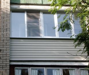 Балконная рама из ПВХ. Плещеницы. №6