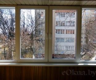 Балконная рама из ПВХ. Плещеницы. №7