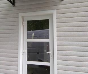 Двери ПВХ входные. №5