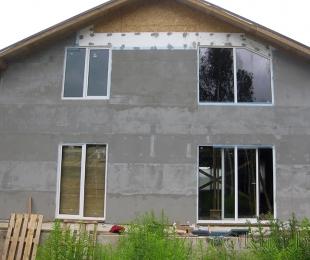 Пластиковые окна в частном доме. Плещеницы. №3