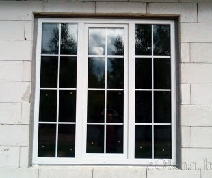 Пластиковые окна в доме. Плещеницы. №10