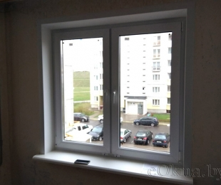 Пластиковые окна в квартире. Плещеницы. №15