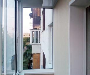 Балконная рама из алюминия. Плещеницы. №3